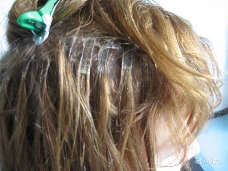 Ужасы наращивания волос фото