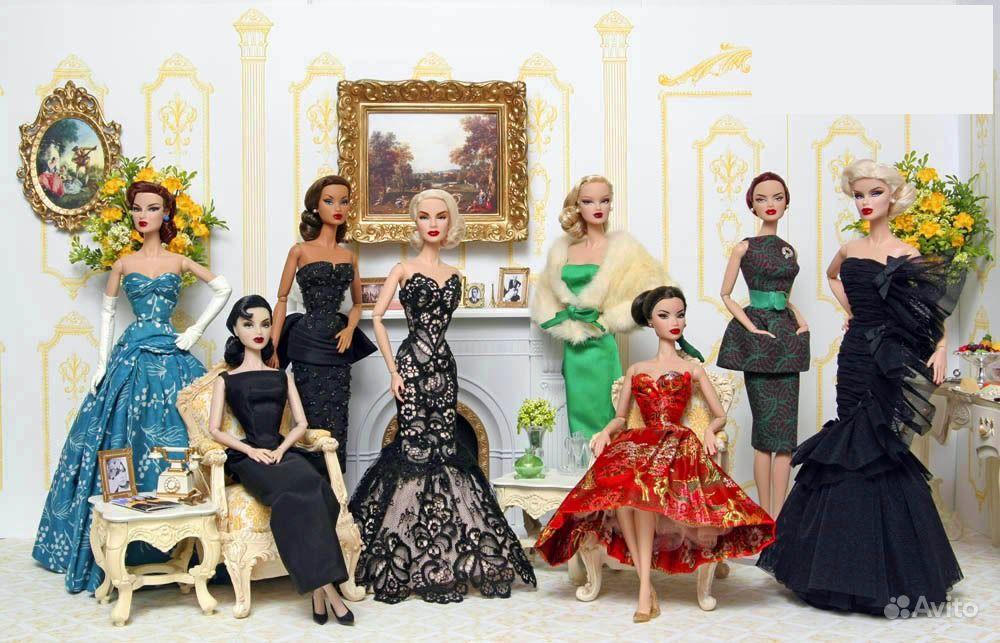 Фото как сделать платье для кукол своими
