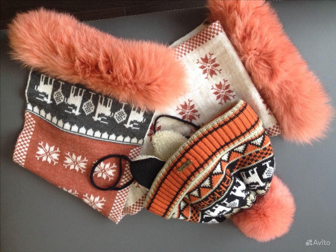Шапка и шарф для девочки зима. Владимирская область,  Владимир