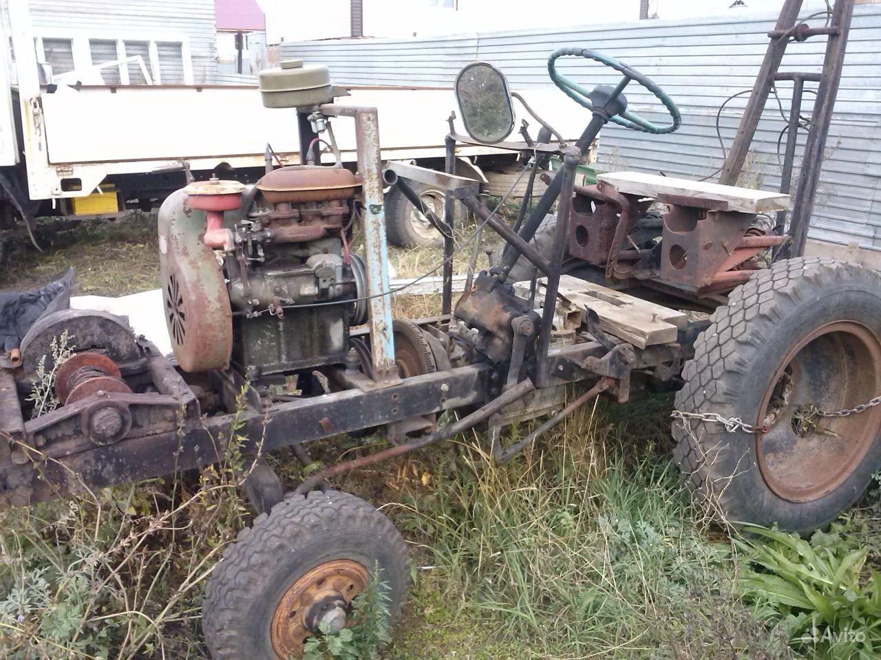 Самодельные тракторов уфа