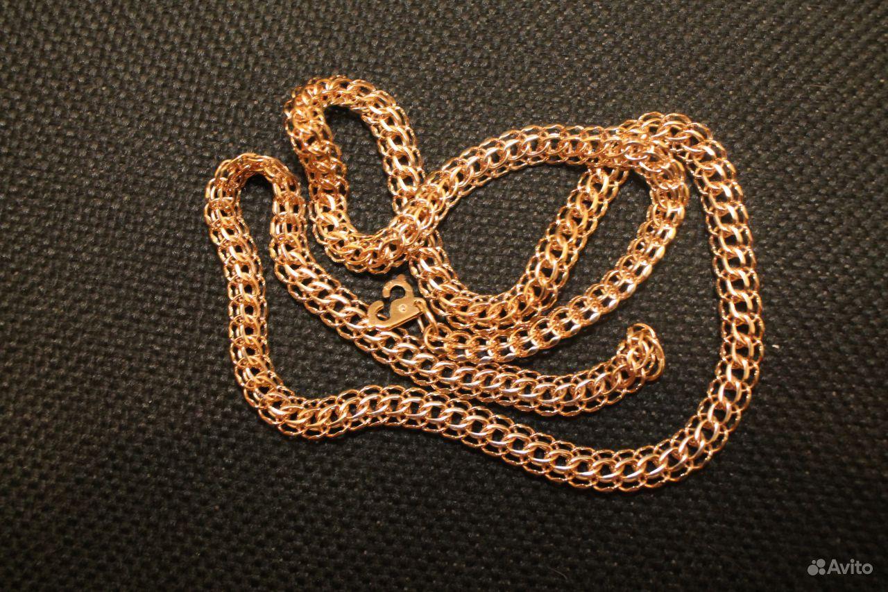 Золотая цепочка плетение италия фото 3