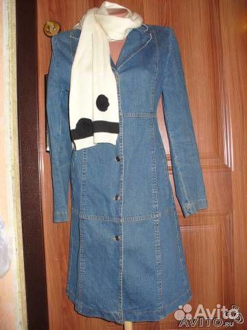 Как сшить пальто из джинсы 388