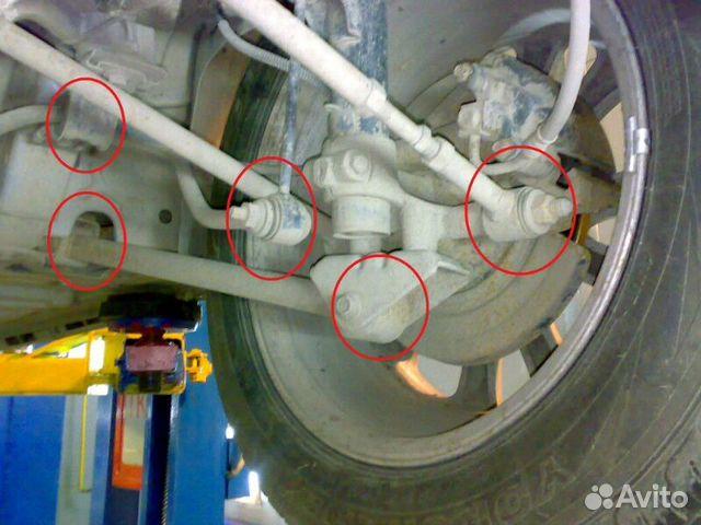 Ремонт передней подвески ваз