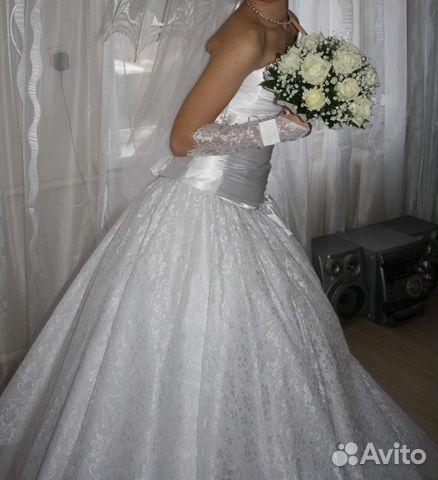 Объявление о продаже Свадебное платье в Краснодарском крае на AVITO.ru.