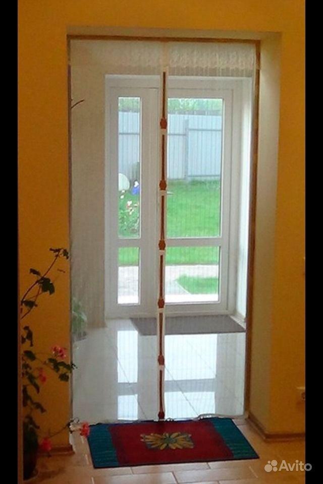 Москитная сетка для дверей на магнитах купить оптом и в розн.