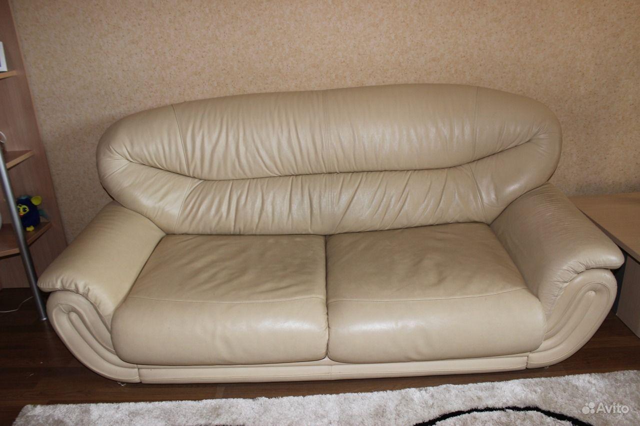 Кожаный диван  от производителя