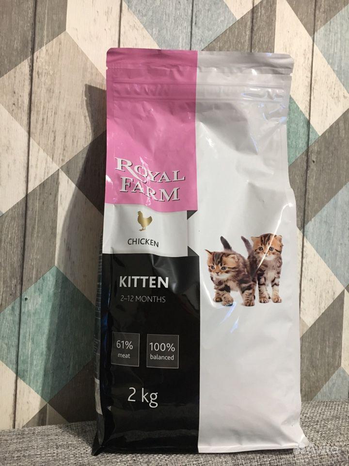 Royal farm kitten сухой корм для котят
