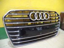 Решетка радиатора Audi A6 Ауди А6 — Запчасти и аксессуары в Челябинске