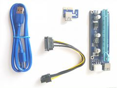 Райзер/riser ver.006c/006с 6 pin SATA PCI-E