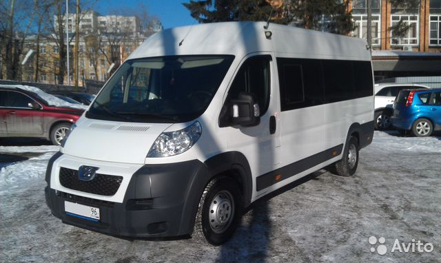 Микроавтобус 18 мест