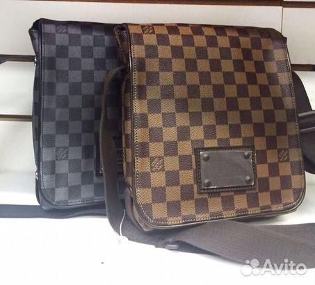 f0ba4cc85697 Мужская Сумка LV Louis Vuitton Daniel N58029 купить в Москве на ...