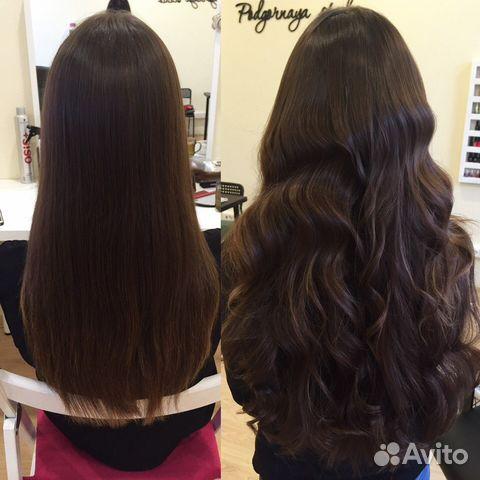 Наращивание волос на авито спб