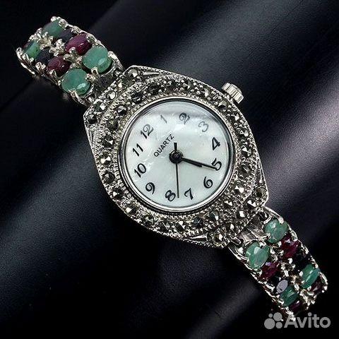 Часы с изумрудами купить часы наручные густав беккер цена