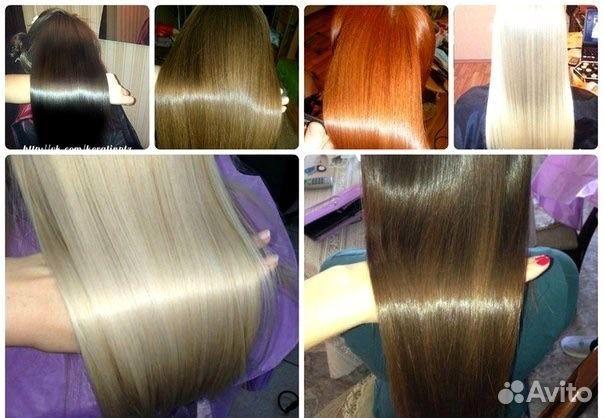 Современные перманентные составы выпрямления волос