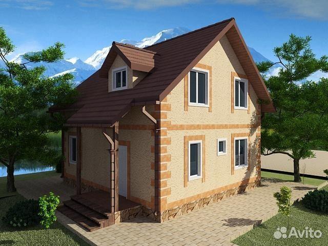Дом 127 м² на участке 3 сот.