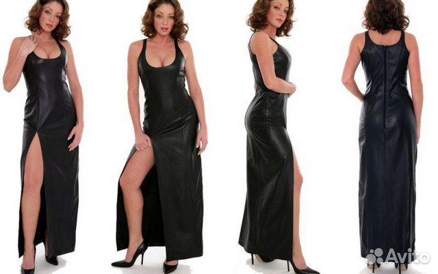 Платье на бретельках по кожу
