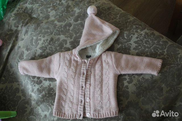 вязаное пальто для малышки Festimaru мониторинг объявлений