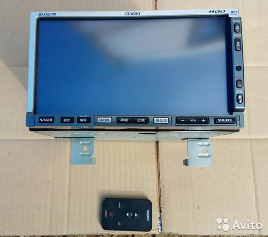 clarion max 760 hd