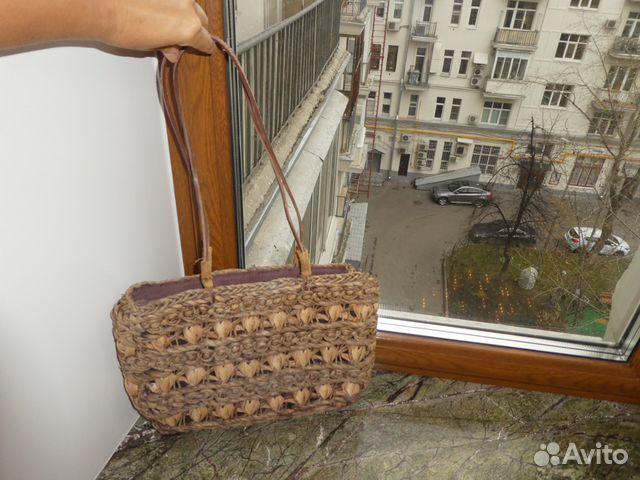 Сумка соломенная пляжная купить в Москве на Avito — Объявления на ... 0f03fb4543a