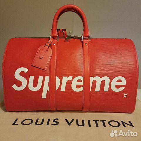 c0cfc2b5eee2 сумка Supreme X Louis Vuitton Festimaru мониторинг объявлений