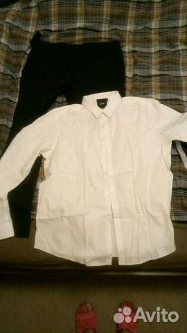 f1870fd06e0 Рубашка мужская белая новая Asos