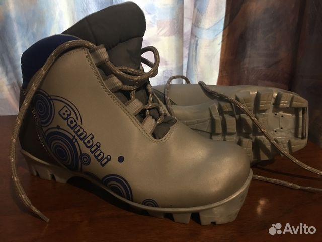 Детские лыжные ботинки Bambini   Festima.Ru - Мониторинг объявлений abf4636a550