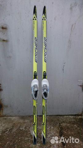 Лыжи беговые Fischer Австрия с ботинками в школу   Festima.Ru ... 2ed6824a519