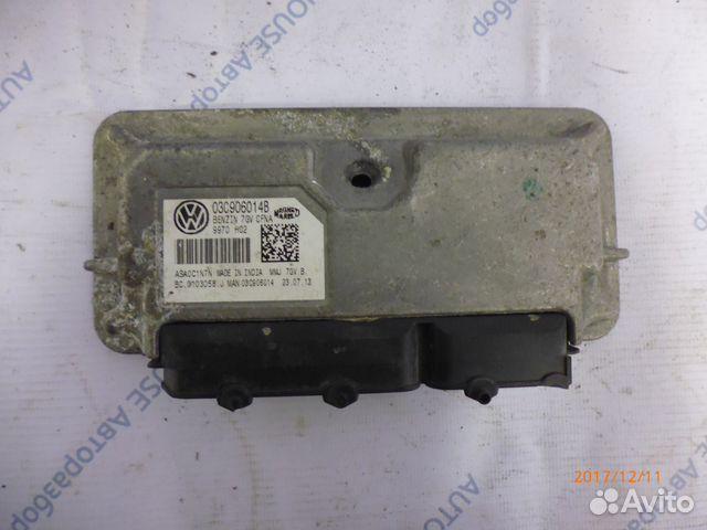 89657347629 Блок управления двигателем VW Polo Sedan