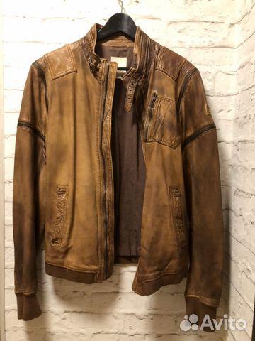 5aa15faa043 Кожаная куртка Diesel