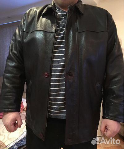 6f9e0d6718e7 Кожаная куртка мужская темно-коричневая 54-56 рр   Festima.Ru ...