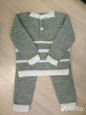 вязаный костюм детский купить в санкт петербурге на Avito