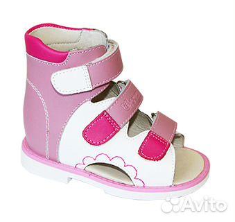 bb61c7fef9a2a Детская ортопедическая обувь купить в Новосибирской области на Avito ...