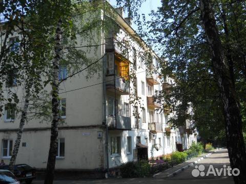 Продается двухкомнатная квартира за 1 950 000 рублей. Московская область, городской округ Лосино-Петровский, поселок Юность, 4.