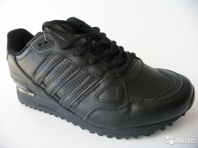 a50a7b3b Кроссовки Adidas Zx-750 Кожа Черн.44 | Festima.Ru - Мониторинг ...