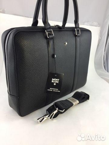 7ded1522c817 Мужская сумка портфель Mont Blanc арт.9718-1 купить в Москве на ...