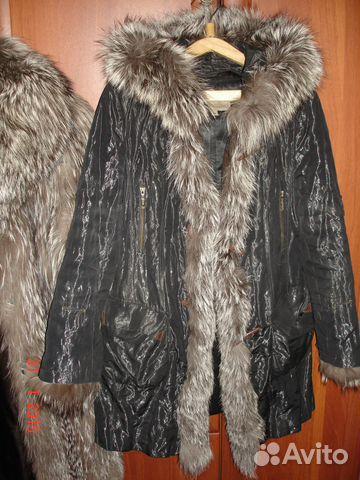 Куртка (женская парка с натуральным мехом) 89053064306 купить 1