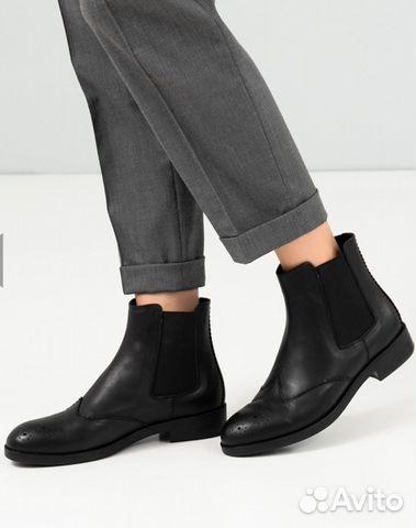 b527b4dab Кожаные ботинки челси женские (ручная работа), 38 | Festima.Ru ...