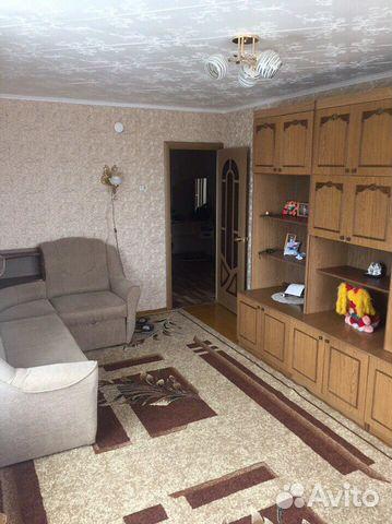 Продается двухкомнатная квартира за 1 570 000 рублей. Брянская область, Трубчевск, улица Луначарского.