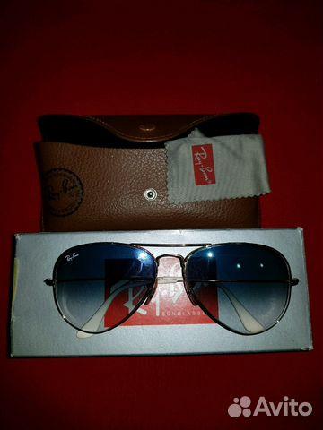Очки Ray ban оригинал купить в Краснодарском крае на Avito ... fdd022365d9c7