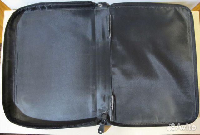 Кожаный чехол для ноутбука или большого планшета