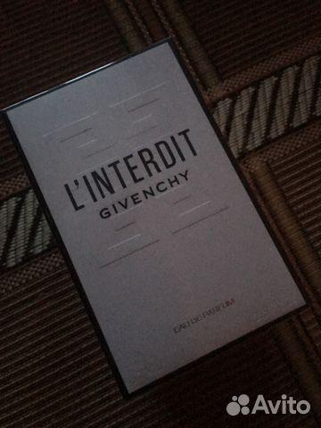 Givenchy Linterdit Parfum Original 80ml купить в санкт петербурге