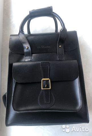 aeee7a1b15a2 Стильный рюкзак Dr Martens, кожа | Festima.Ru - Мониторинг объявлений