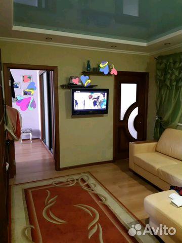 Продается четырехкомнатная квартира за 4 500 000 рублей. микрорайон Северо-Западный, Курск, Студенческая улица.