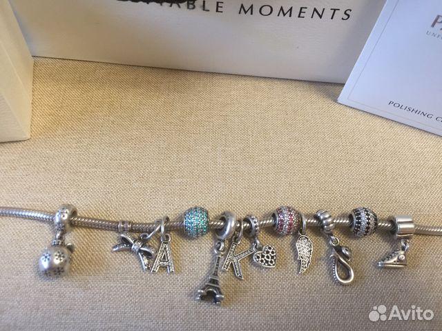 браслет пандора оригинал купить в хабаровском крае на Avito