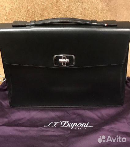 496ca74874fb Портфель Dupont Elysee Франция купить в Москве на Avito — Объявления ...