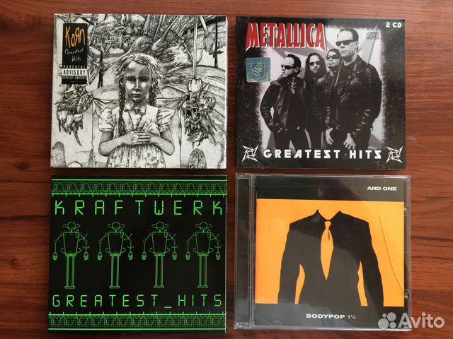 metallica greatest hits 4 cd