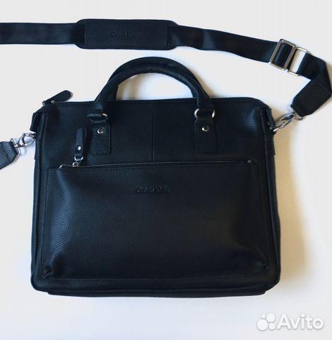 1ccb820cd880 Мужская кожаная сумка Ck А4 мужские сумки купить в Москве на Avito ...