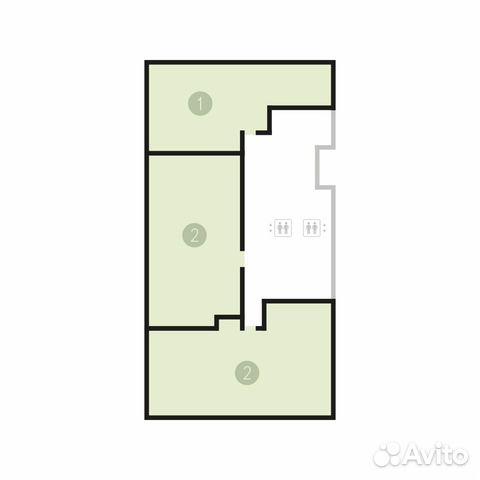 2-к квартира, 89.3 м², 1/16 эт. 83462769413 купить 3