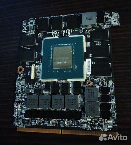 Видеокарта ноутбука MSI Nvidia GTX 1080 8GB MXM купить в