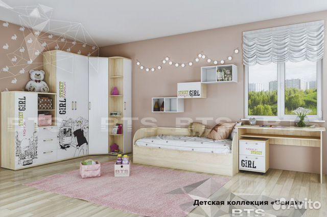 Детская спальня Сэнди